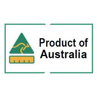 "21x12 ""Product of Australia"" Labels, 120 Rolls (120,000 labels) - includes free Jolly labelling tool"